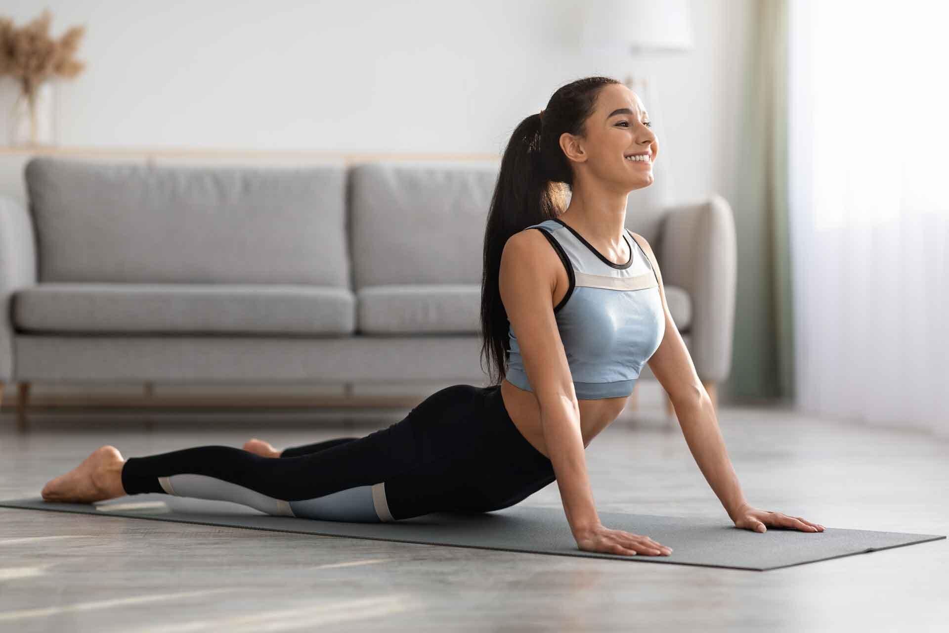 Stretching Yoga Movements
