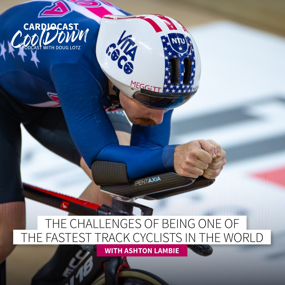 Track Cyclist Asthon Lambie